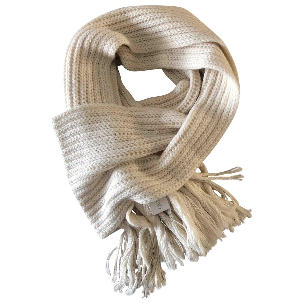 Valentino Garavani \N Schal in  Beige Wolle