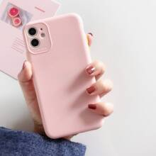 Solid Full Cover iPhone Case