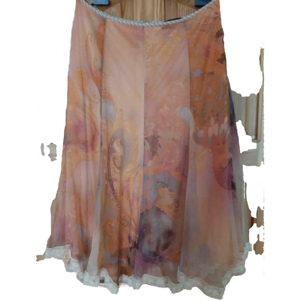 Mariella Rosati - Jupe   pour femme en soie - multicolore