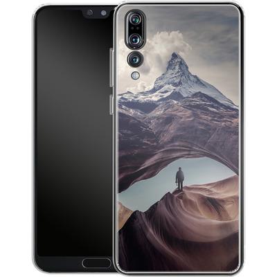 Huawei P20 Pro Silikon Handyhuelle - The Great Outdoors von Enkel Dika