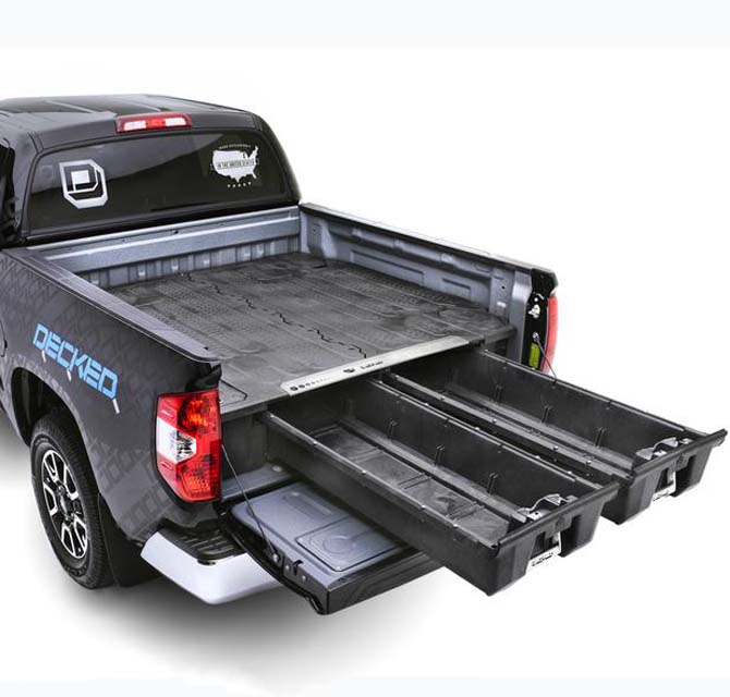Decked Truck Bed Organizer 04-14 Ford F150 8 FT