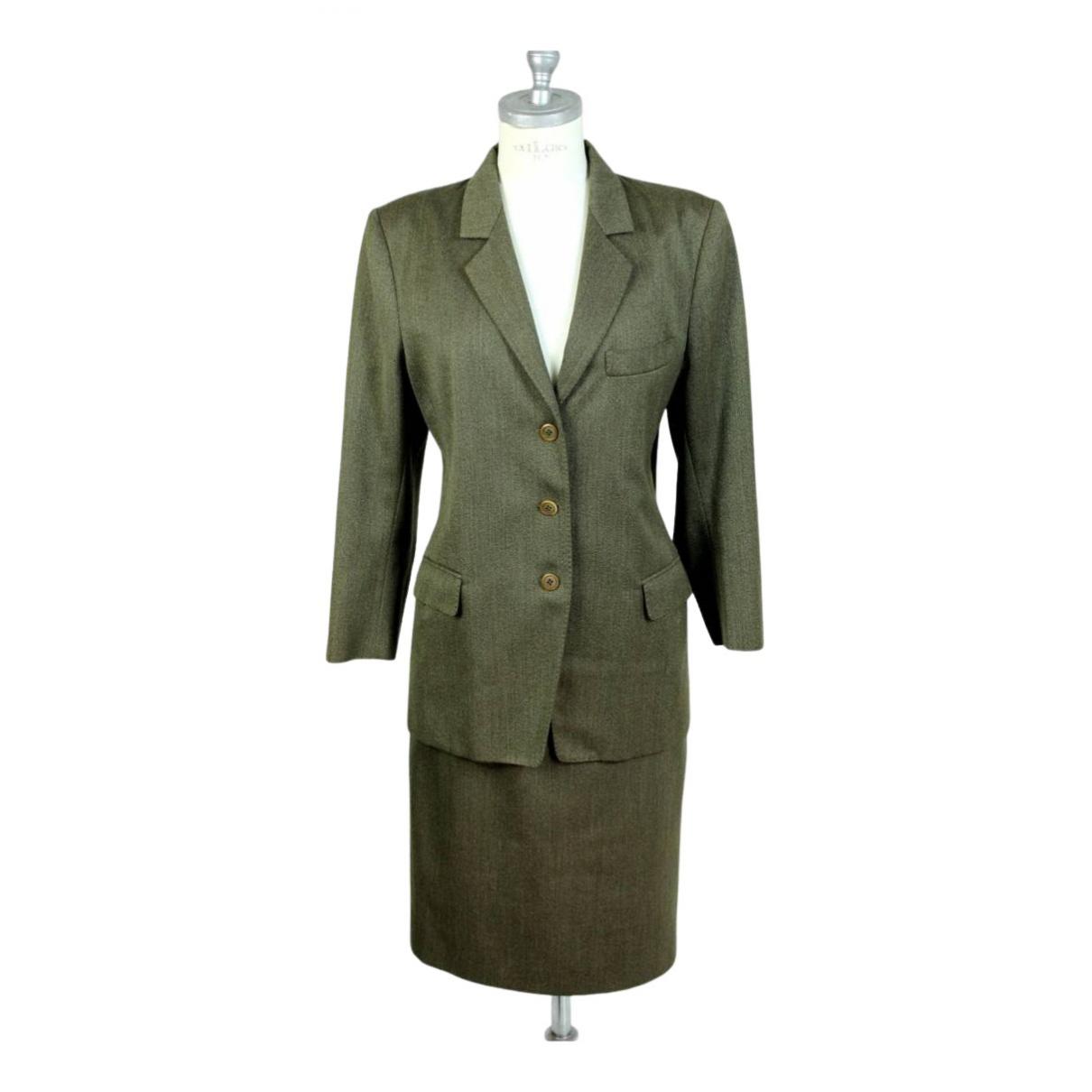 Max Mara N Green Wool jacket for Women 42 IT