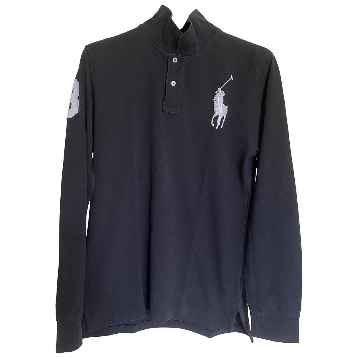 Polo Ralph Lauren \N Oberteile in  Schwarz Baumwolle