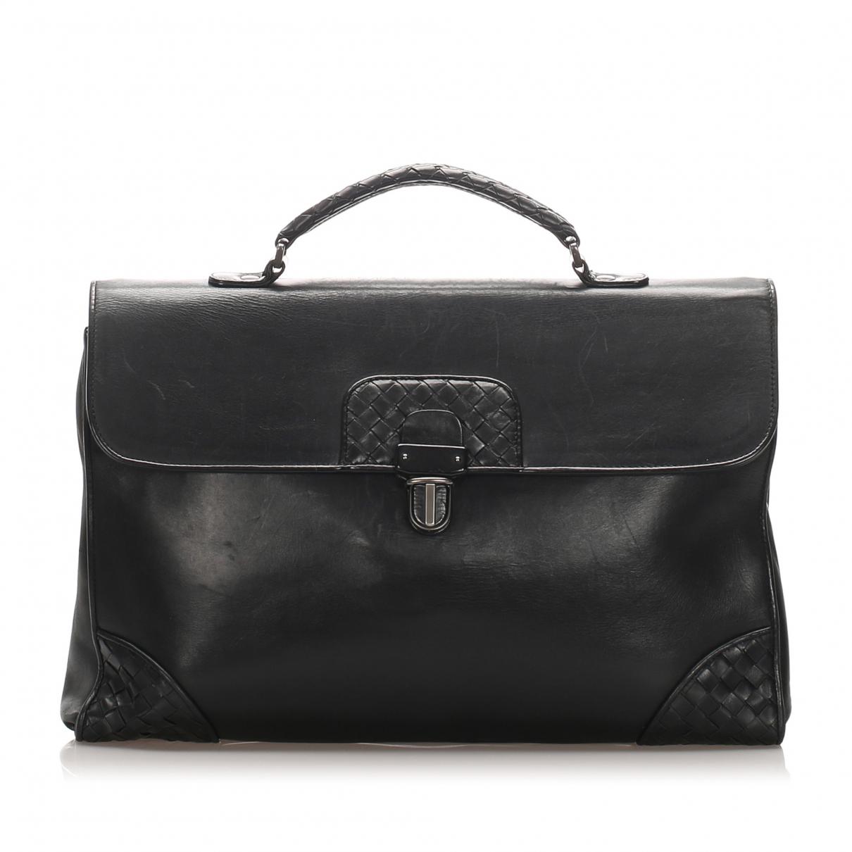 Bottega Veneta N Black Leather handbag for Women N