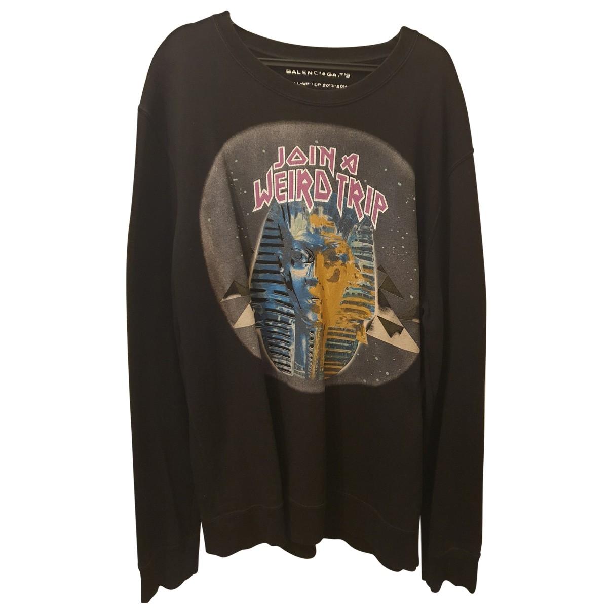 Balenciaga \N Black Cotton  top for Women XXL International