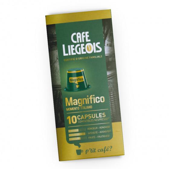 "Kaffeekapseln Cafe Liegeois ""Magnifico"", 10 Stk."