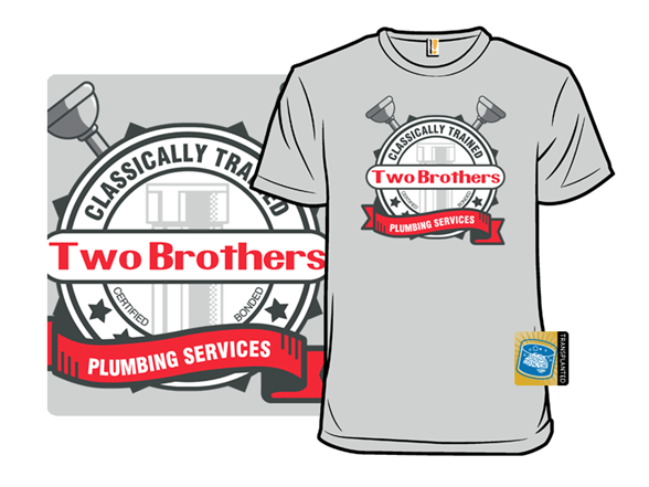 Two Brothers Plumbing T Shirt