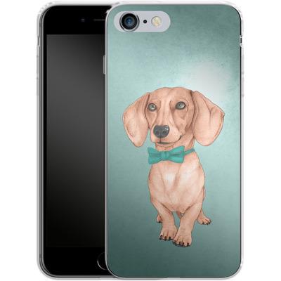 Apple iPhone 6s Plus Silikon Handyhuelle - Dachshund the Wiener Dog von Barruf