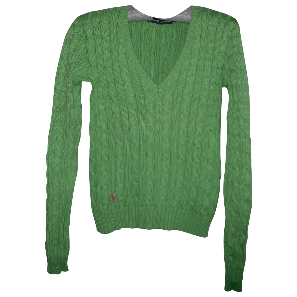 Ralph Lauren \N Green Cotton Knitwear for Women 36 FR