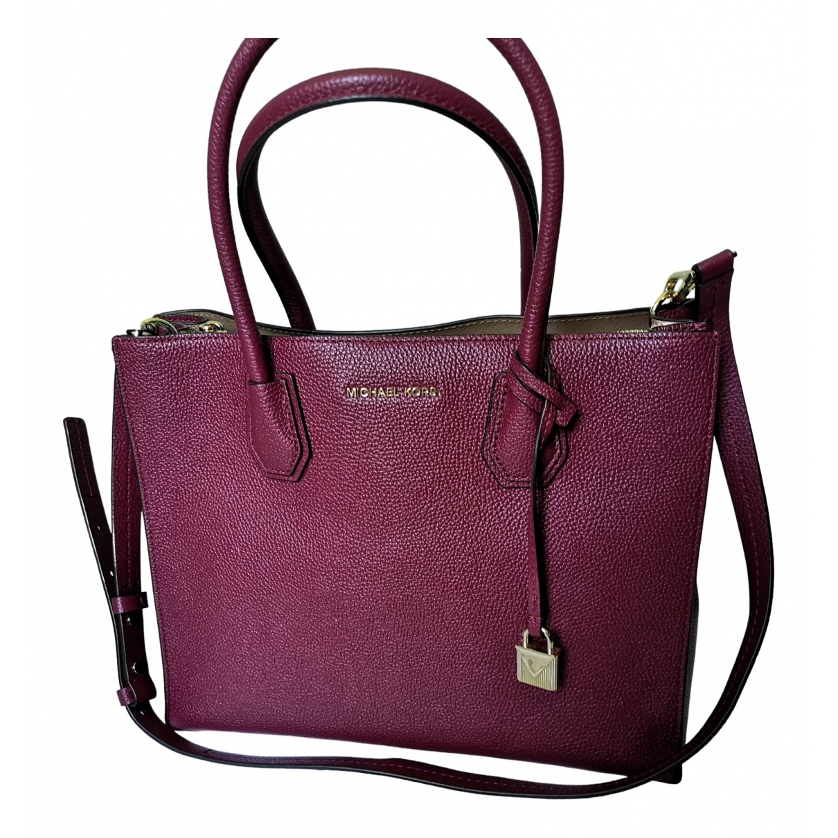 Michael Kors Mercer Leather handbag for Women \N