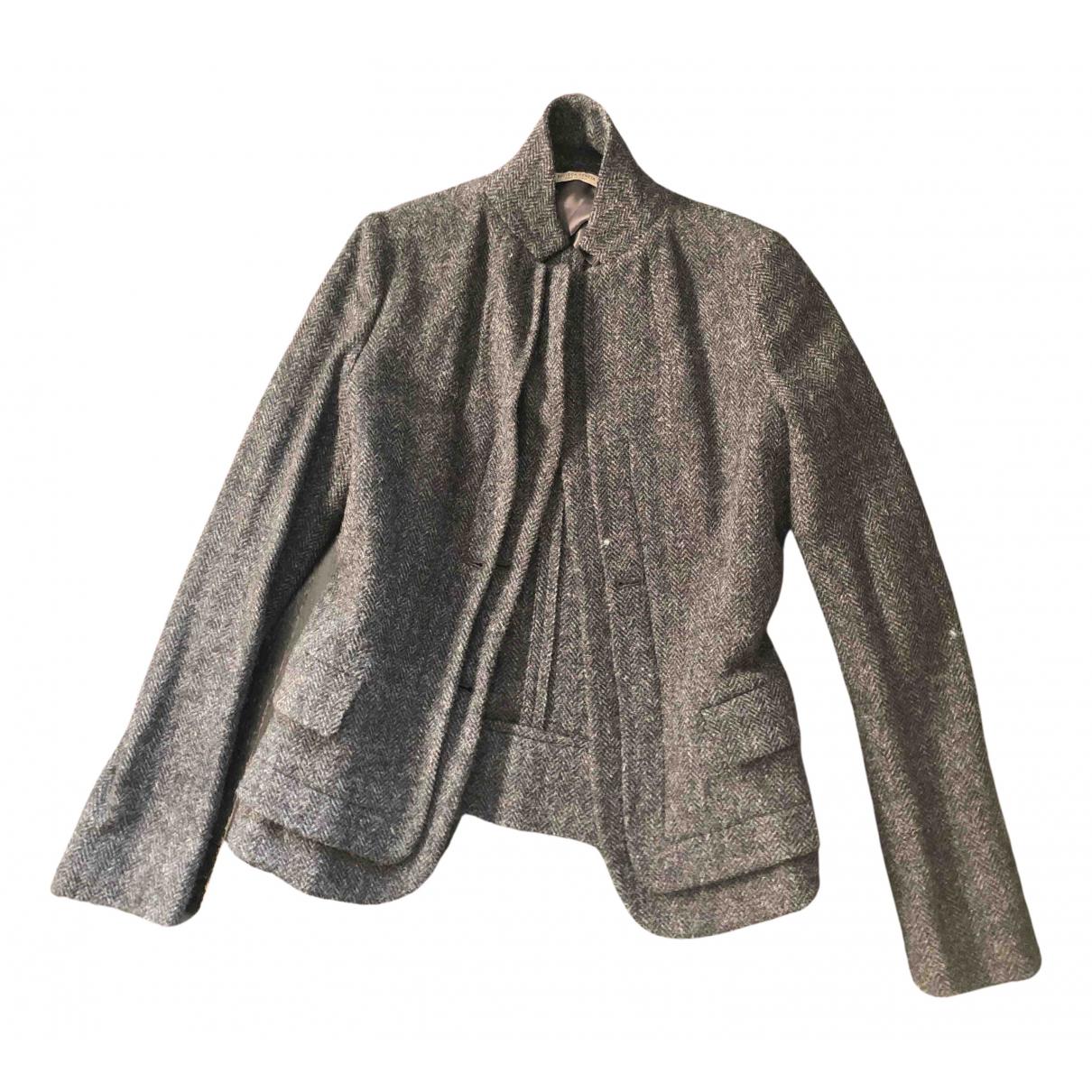 Bottega Veneta - Veste   pour femme en laine - gris