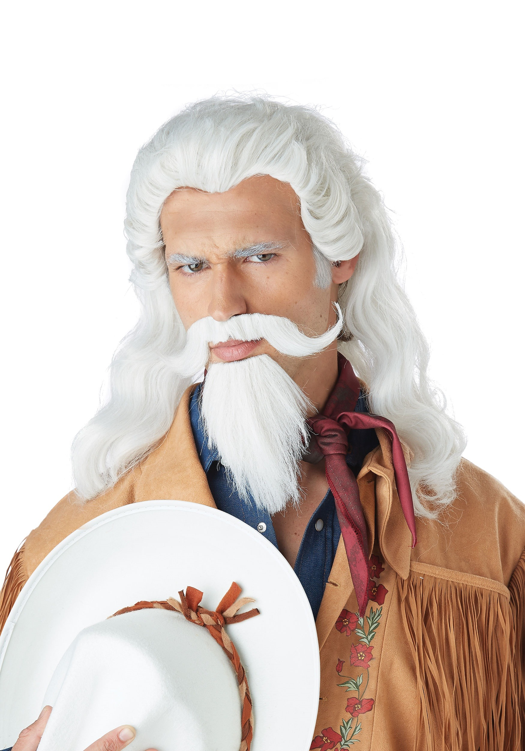 Buffalo Bill Wig for Adults