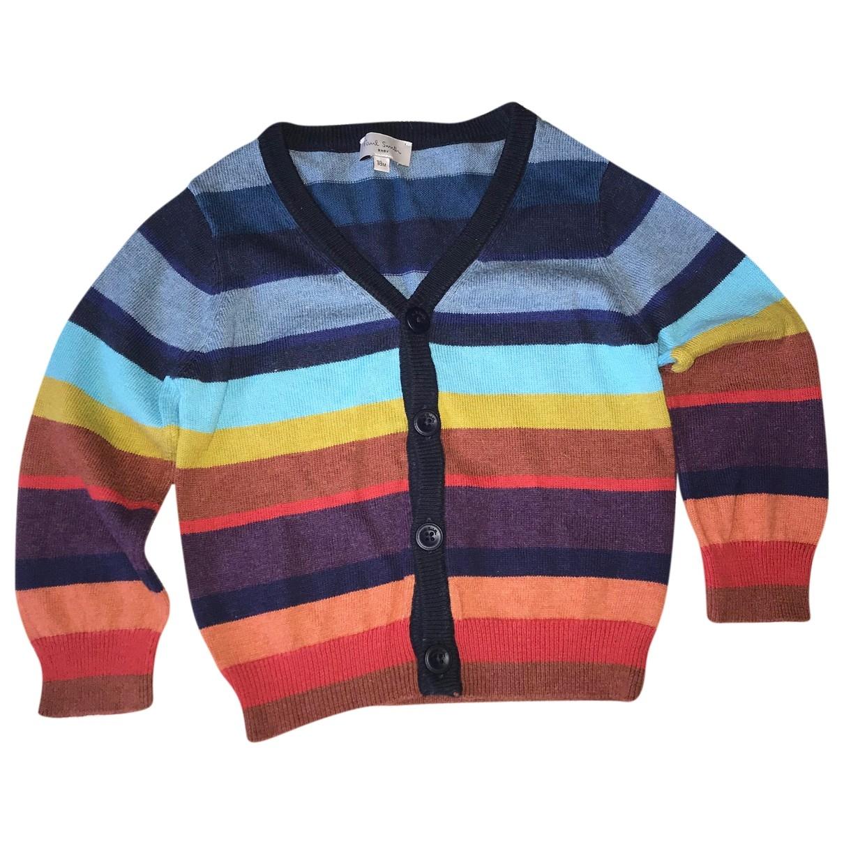 Paul Smith - Pull   pour enfant en coton - multicolore