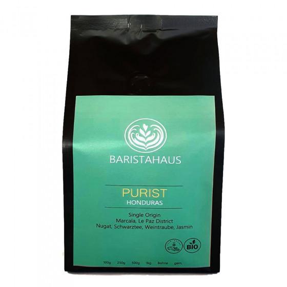 "Kaffeebohnen Baristahaus Kaffeerosterei ""Purist Honduras - Bio, Fair"", 1 kg"