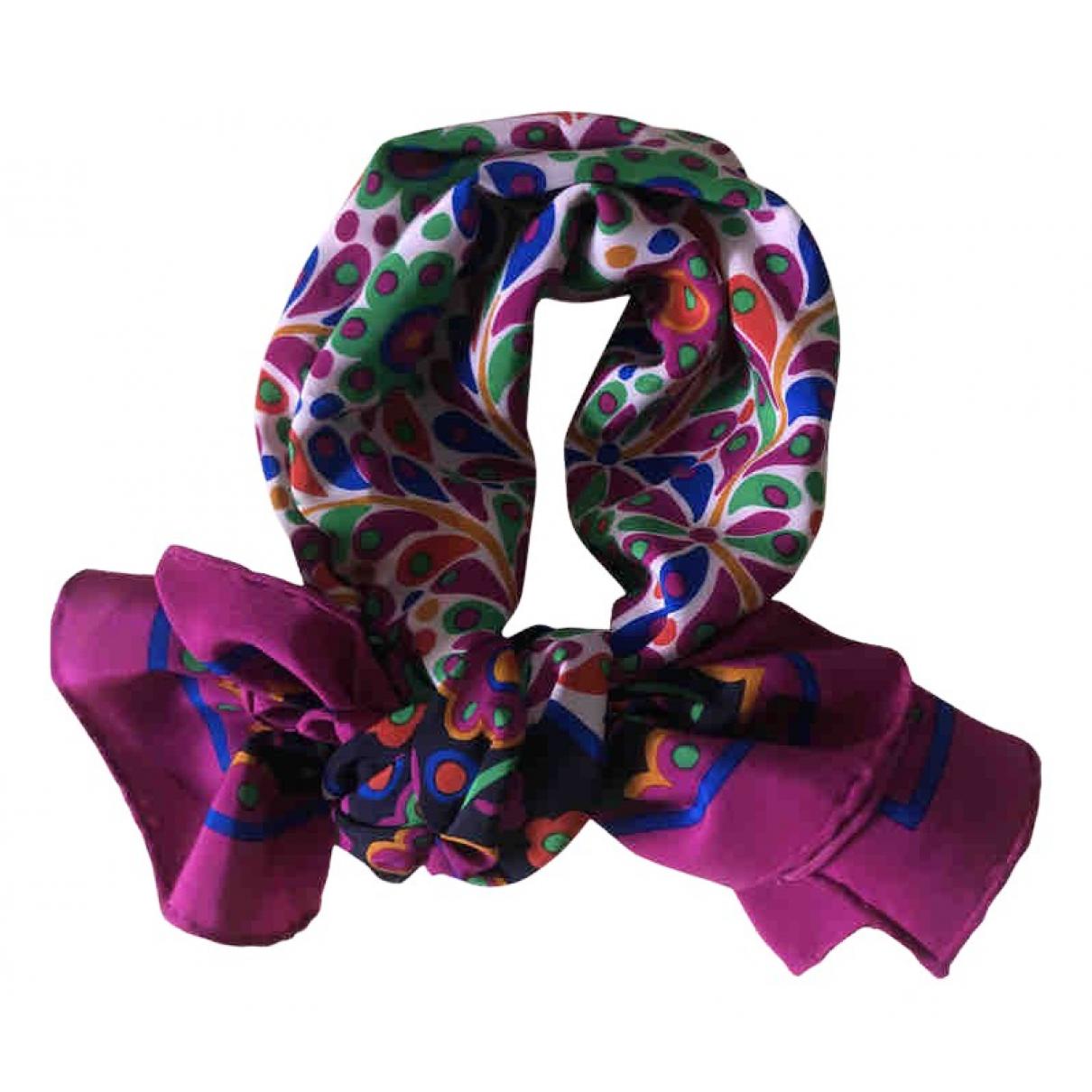 Yves Saint Laurent N Purple Silk scarf for Women N