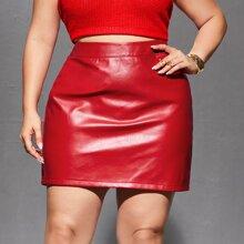 Faldas Extra Grande Liso Glamour