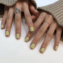 24pcs Solid Fake Nails