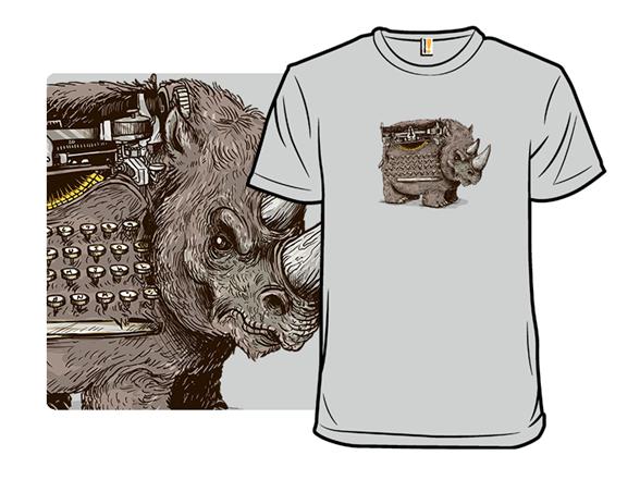 Woolly Typewriter Rhino T Shirt