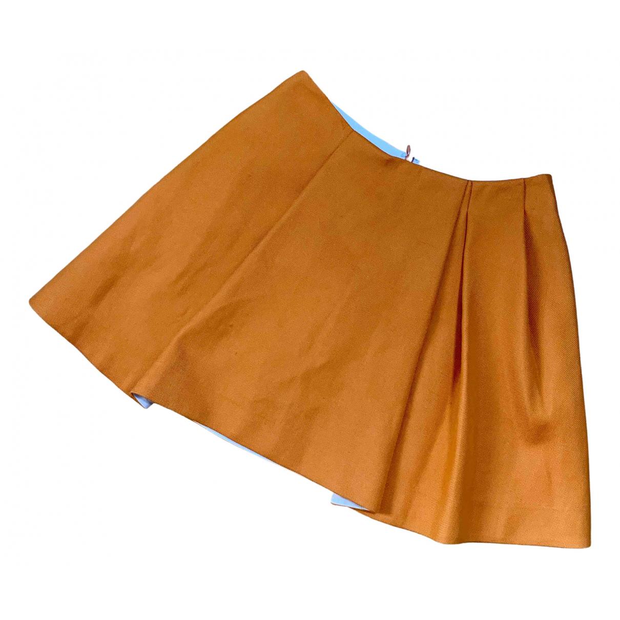 3.1 Phillip Lim - Jupe   pour femme en coton - orange