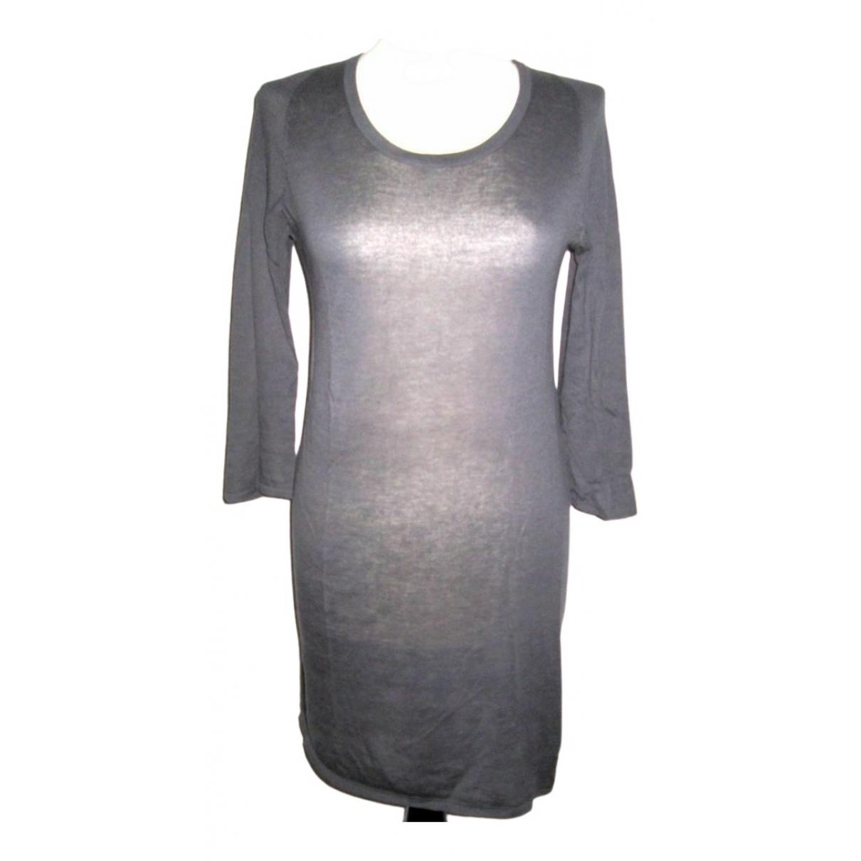 American Vintage - Pull   pour femme en coton - gris