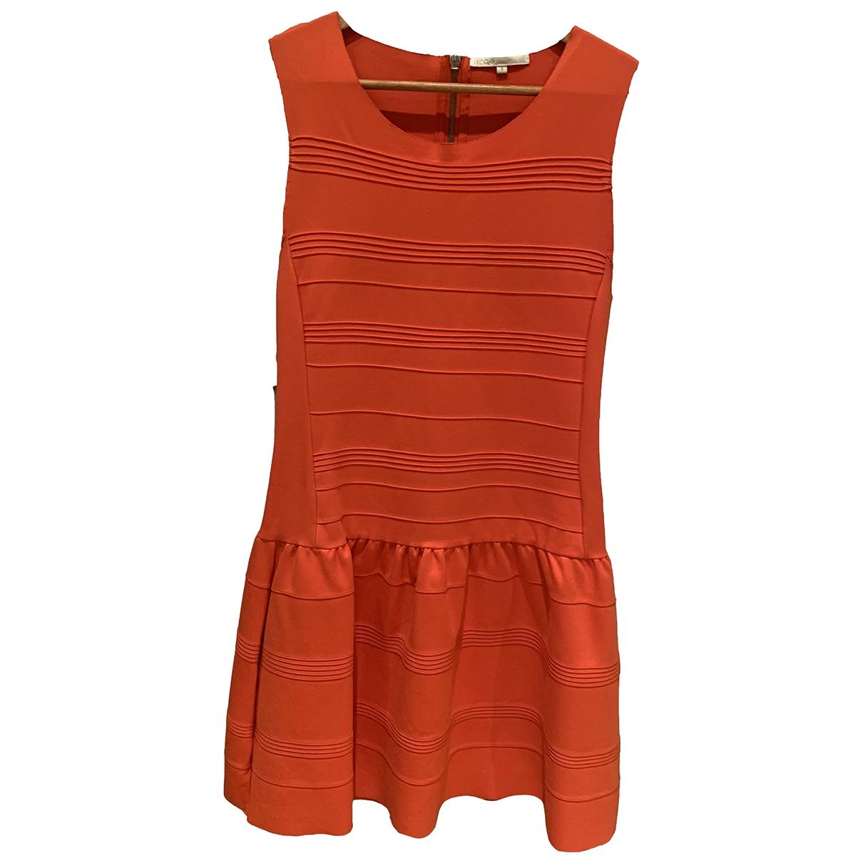 Maje \N Orange dress for Women 38 FR