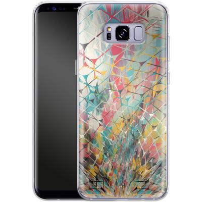 Samsung Galaxy S8 Plus Silikon Handyhuelle - Spider Explosion von Danny Ivan