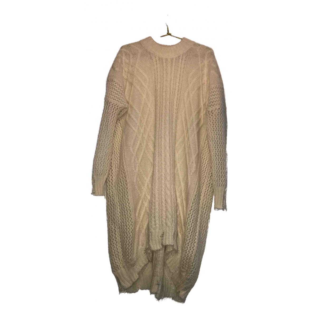 Vionnet N White Wool Knitwear for Women 42 IT