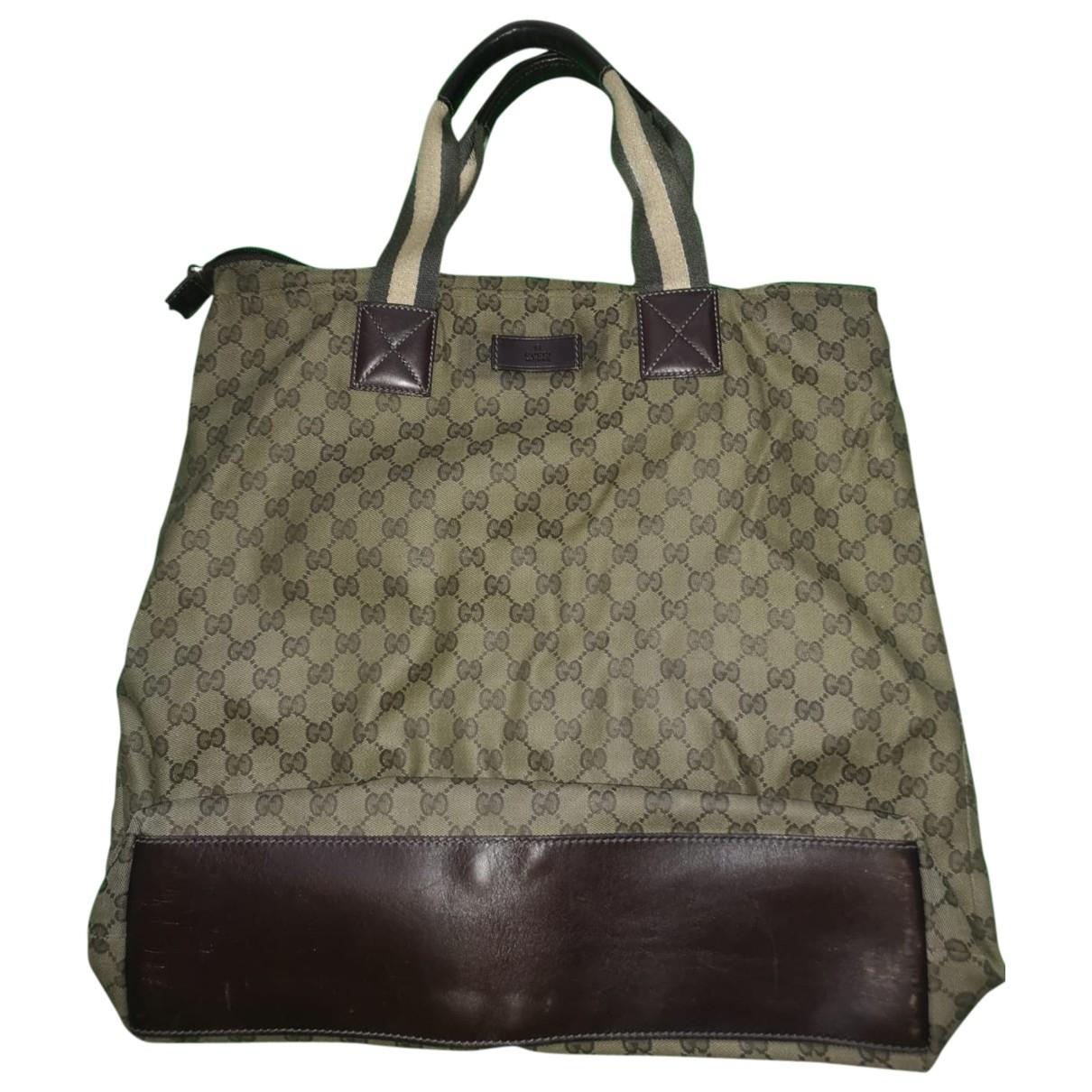 Gucci \N Green Cloth handbag for Women \N