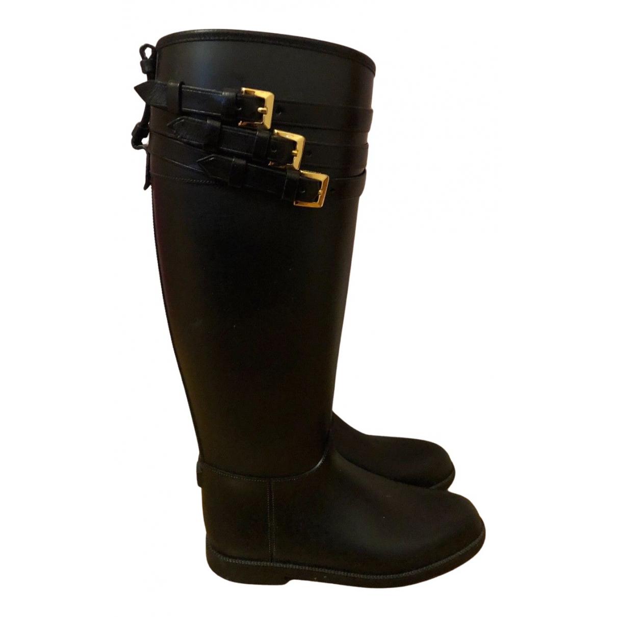 Burberry \N Stiefel in  Schwarz Kunststoff