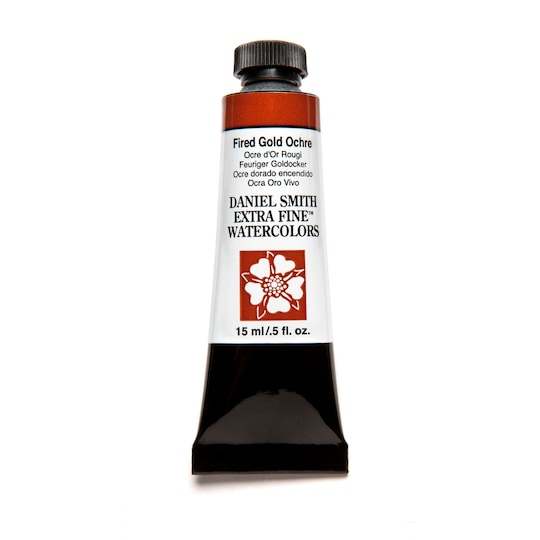 Daniel Smith Extra Fine™ Watercolor, 15 ml Paint in Fired Gold Ochre | Michaels®