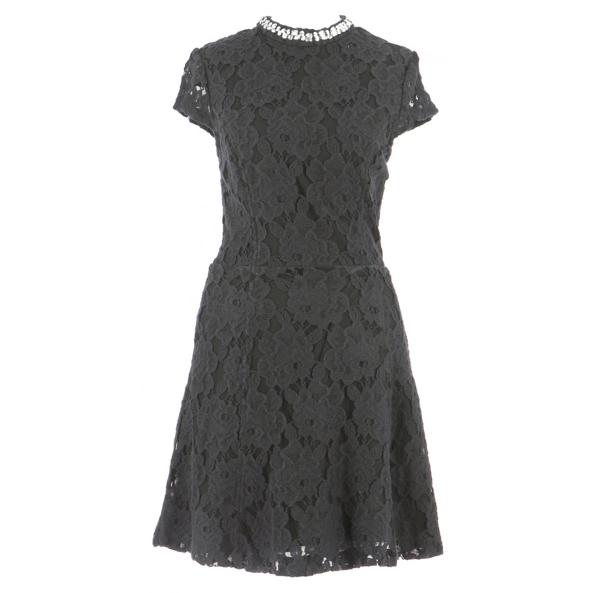 Autre Marque \N Kleid in  Schwarz Baumwolle