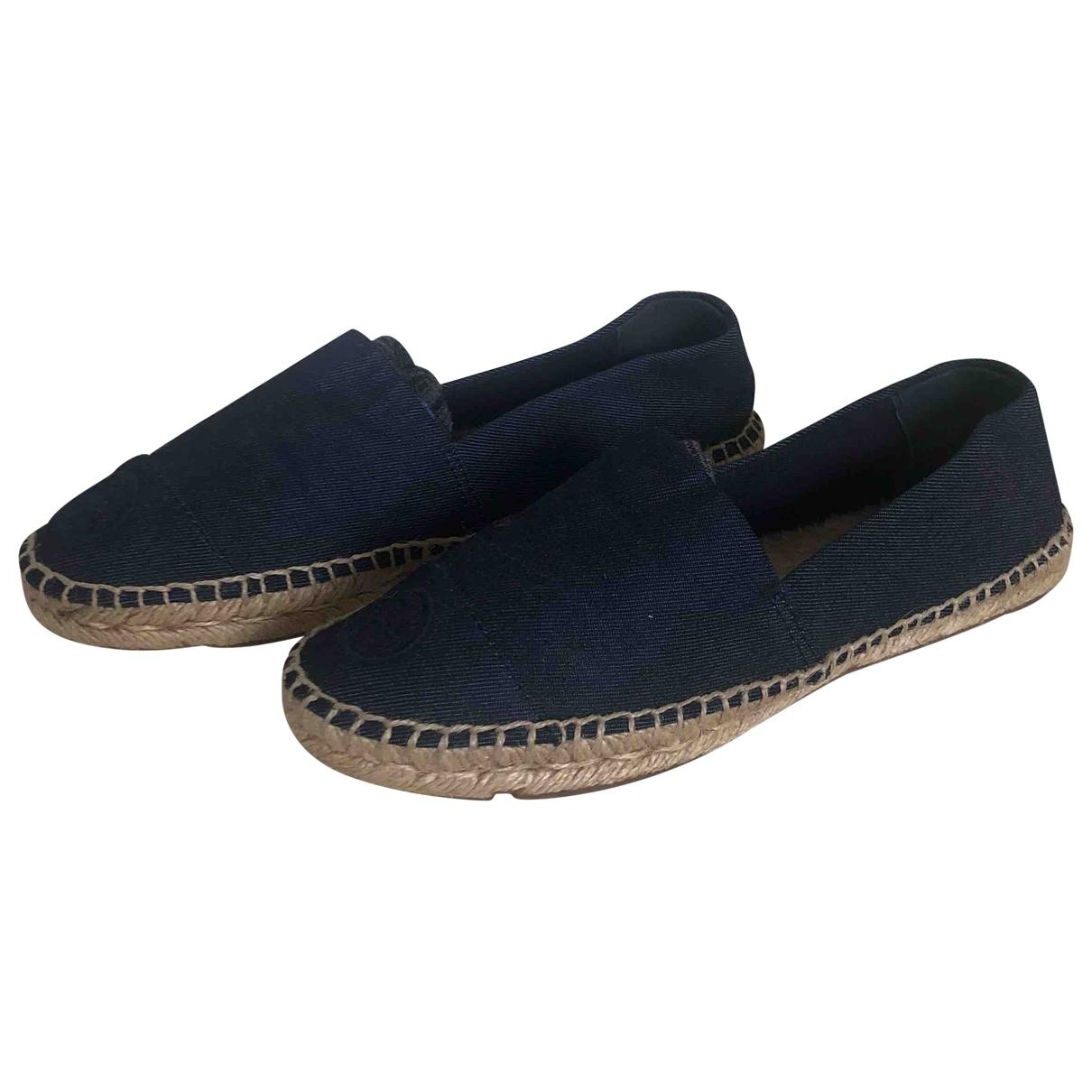 Tory Burch \N Espadrilles in  Blau Denim - Jeans