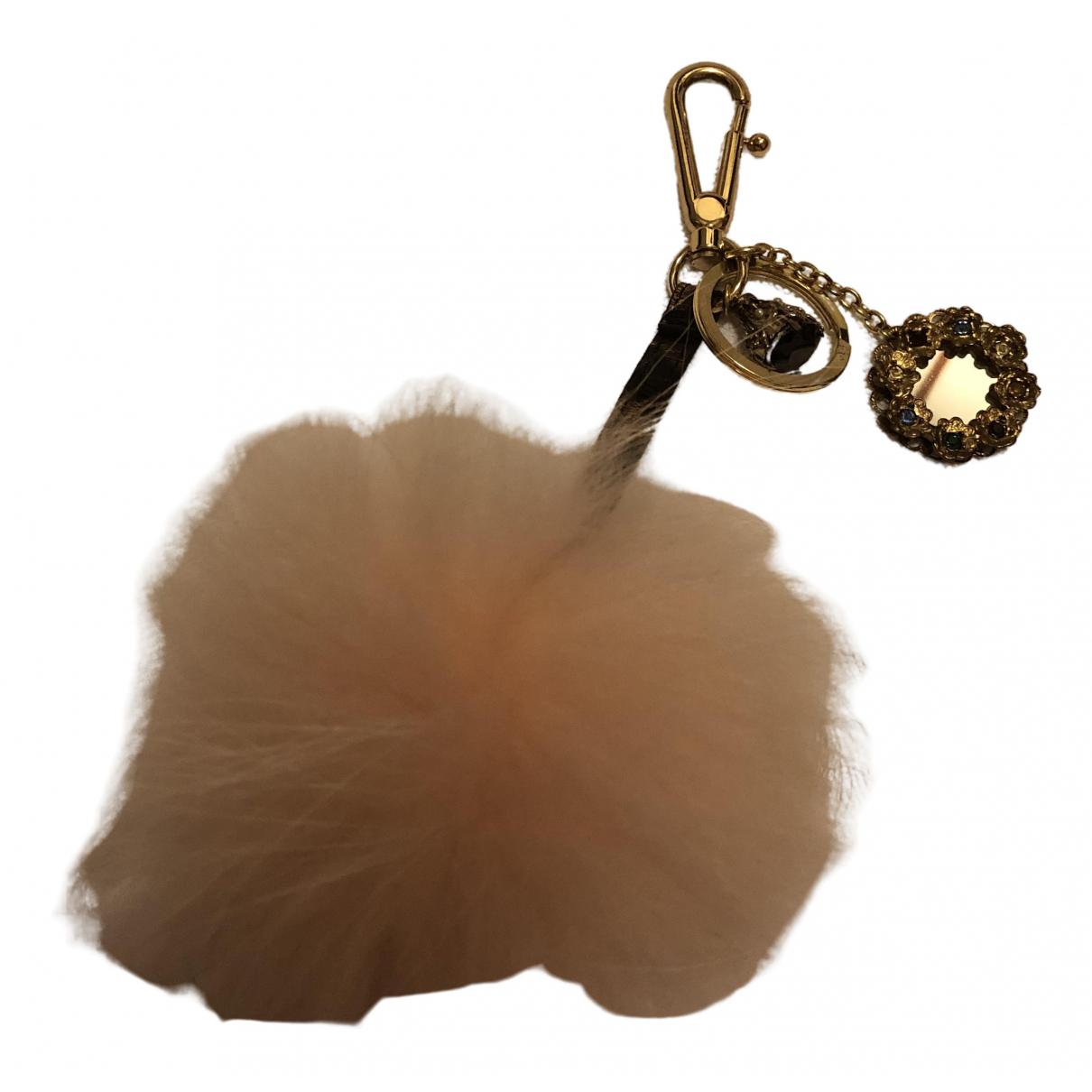 Dolce & Gabbana \N Taschenschmuck in  Rosa Fuchs