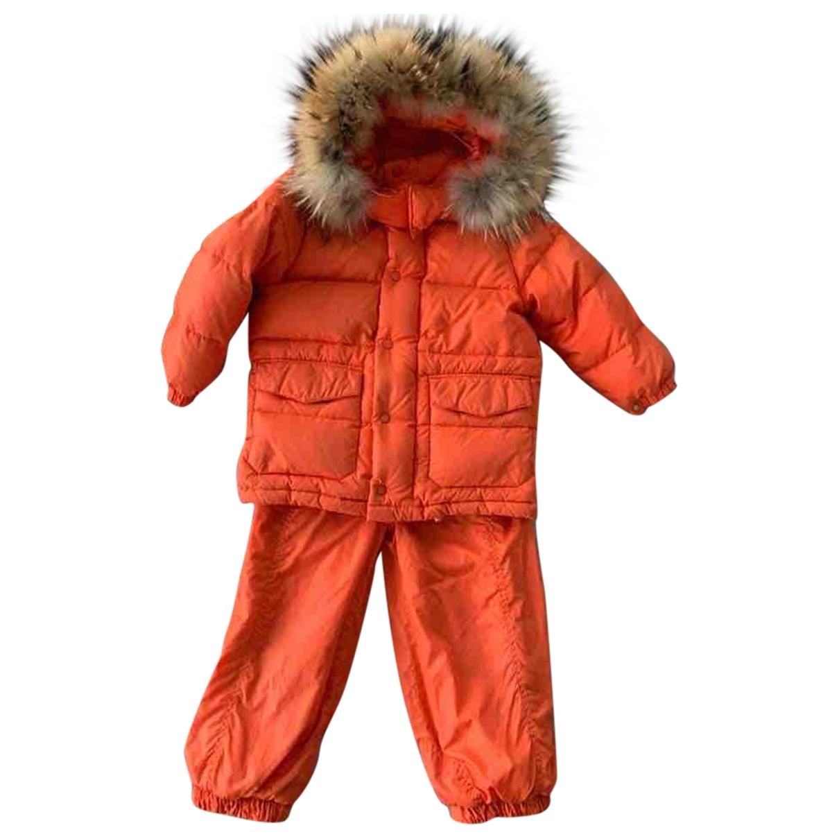 Moncler - Les ensembles   pour enfant - orange