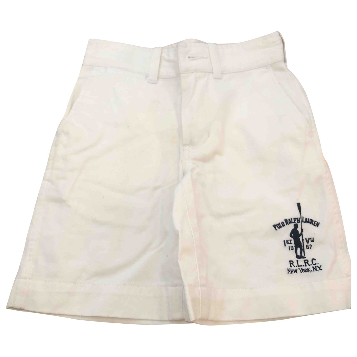 Polo Ralph Lauren \N Shorts in  Weiss Baumwolle