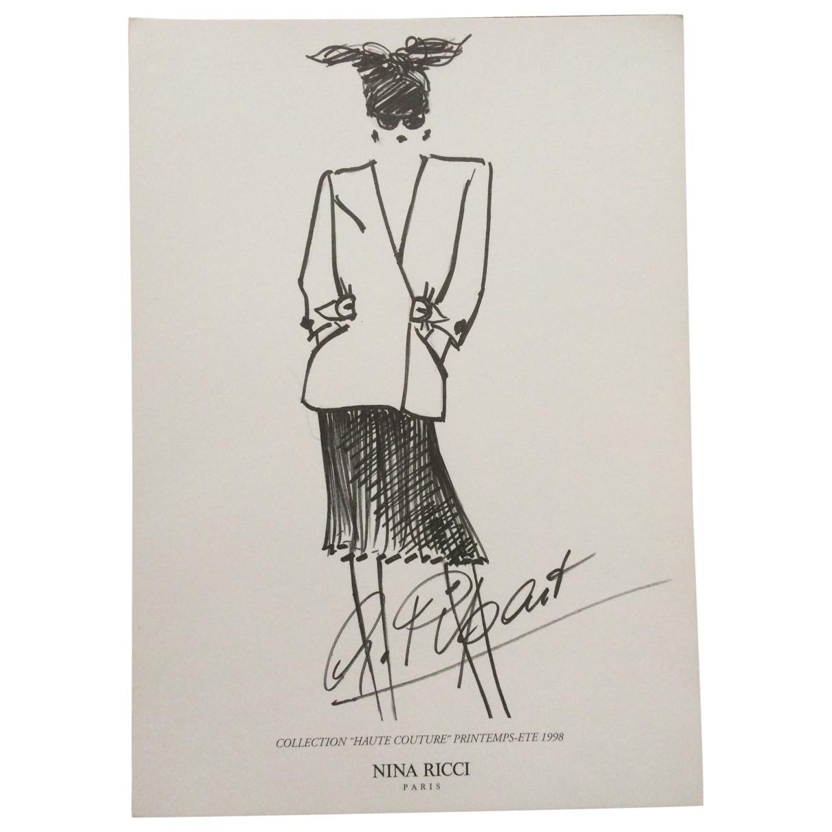 Nina Ricci - Mode   pour lifestyle en autre - noir