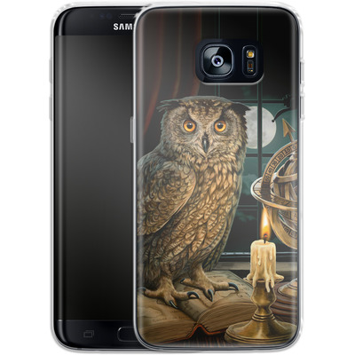 Samsung Galaxy S7 Edge Silikon Handyhuelle - The Astrologer von Lisa Parker