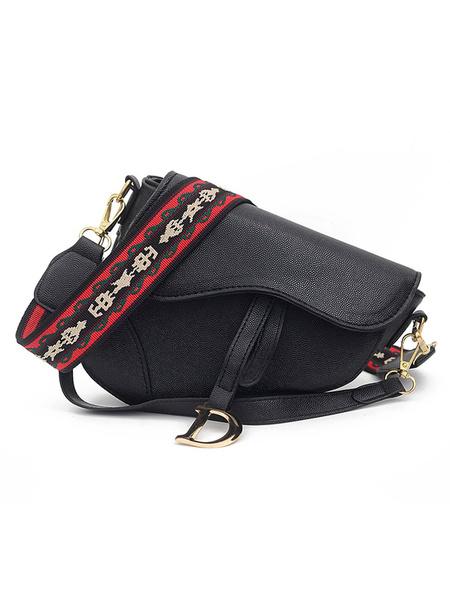 Milanoo Women\'s Irregularly Shaped Cross Body Bag