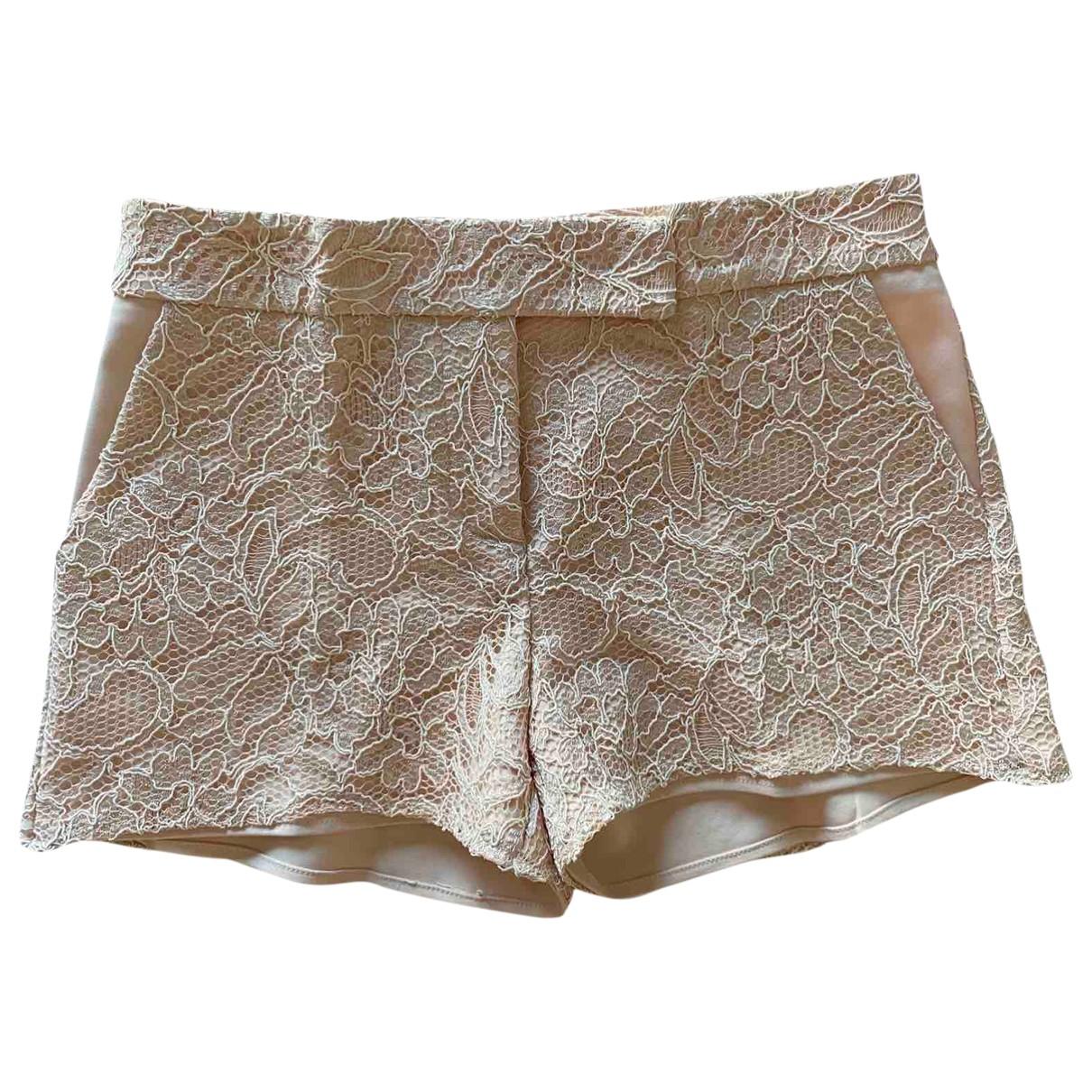 Flavio Castellani \N Pink Cotton Shorts for Women 38 IT