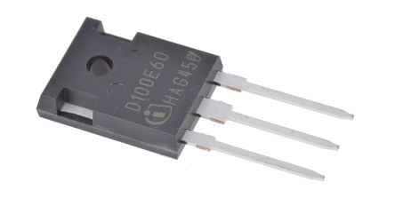 Infineon 600V 100A, Silicon Junction Diode, 3-Pin TO-247 IDW100E60FKSA1 (2)