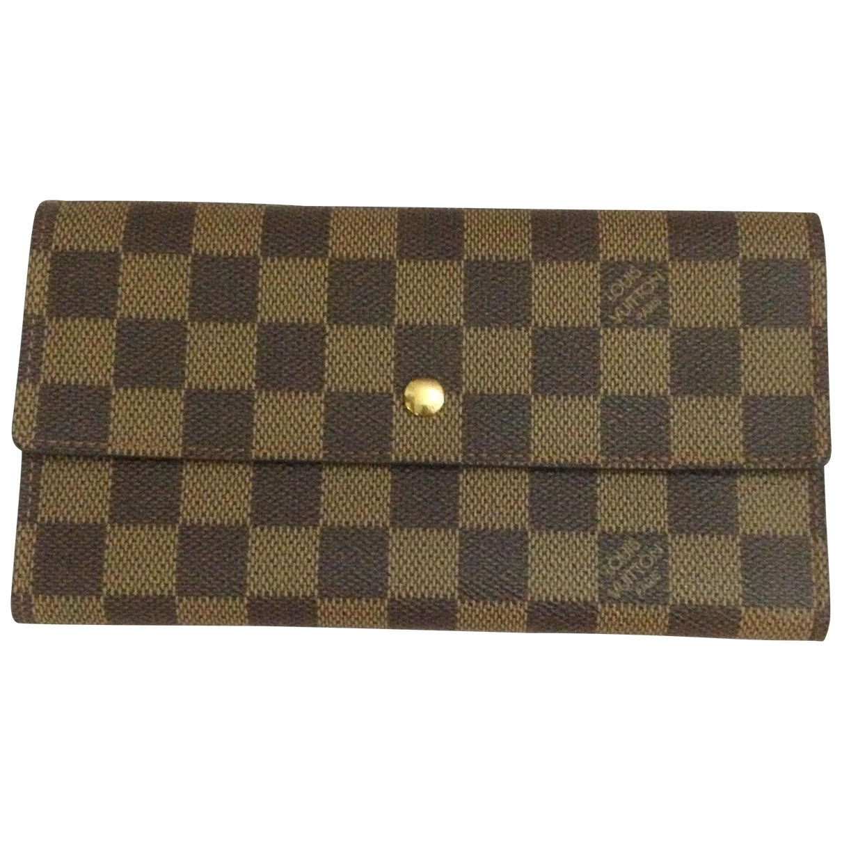Louis Vuitton Virtuose Brown Cloth wallet for Women \N