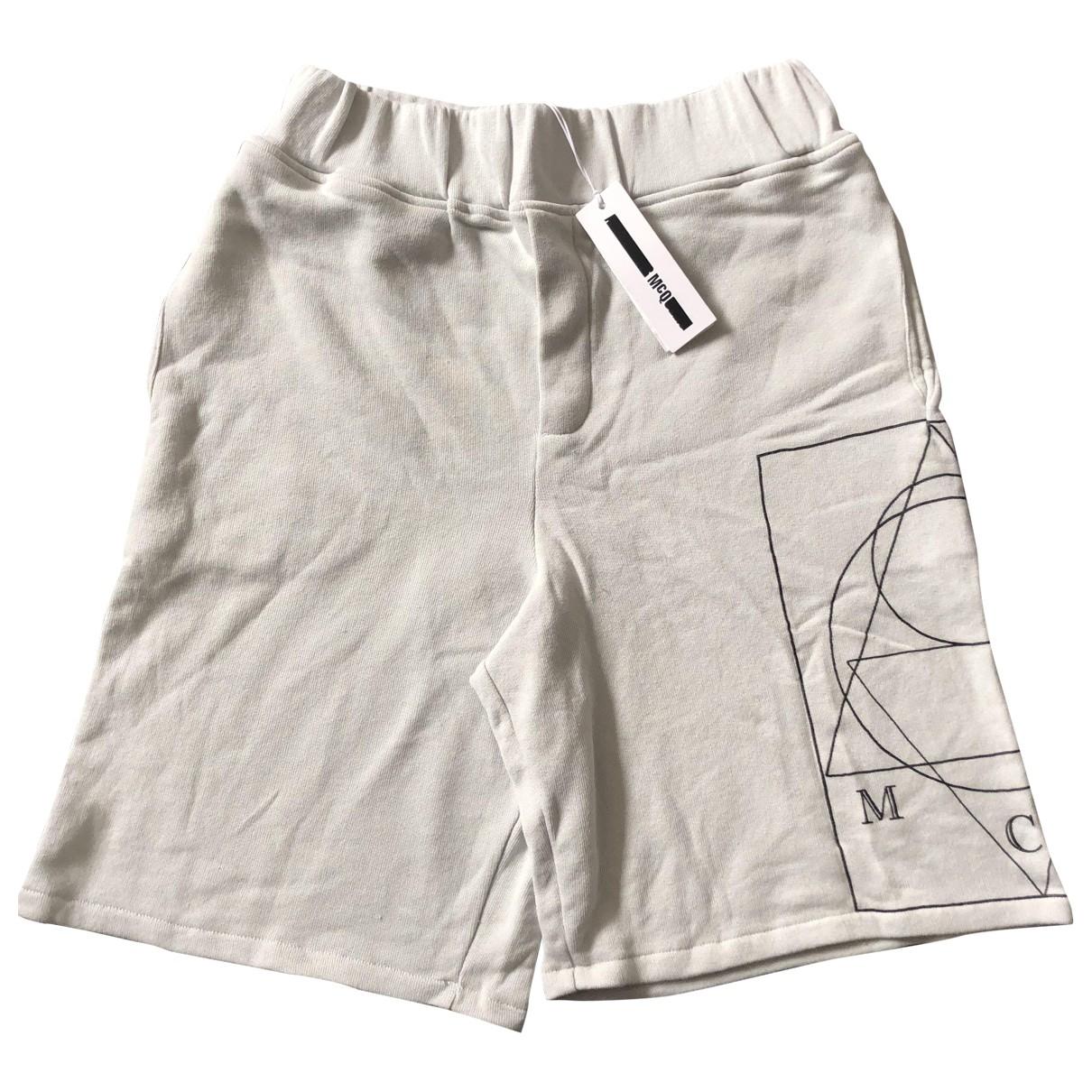 Alexander Mcqueen \N Shorts in  Grau Baumwolle
