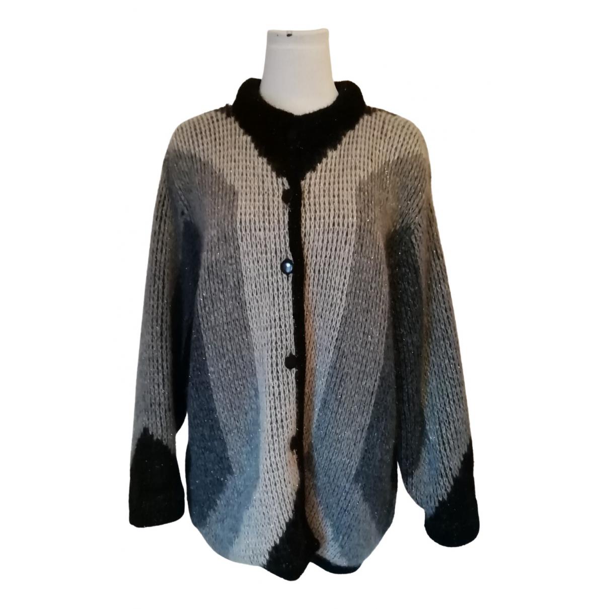 Nina Ricci - Pull   pour femme en laine - bleu