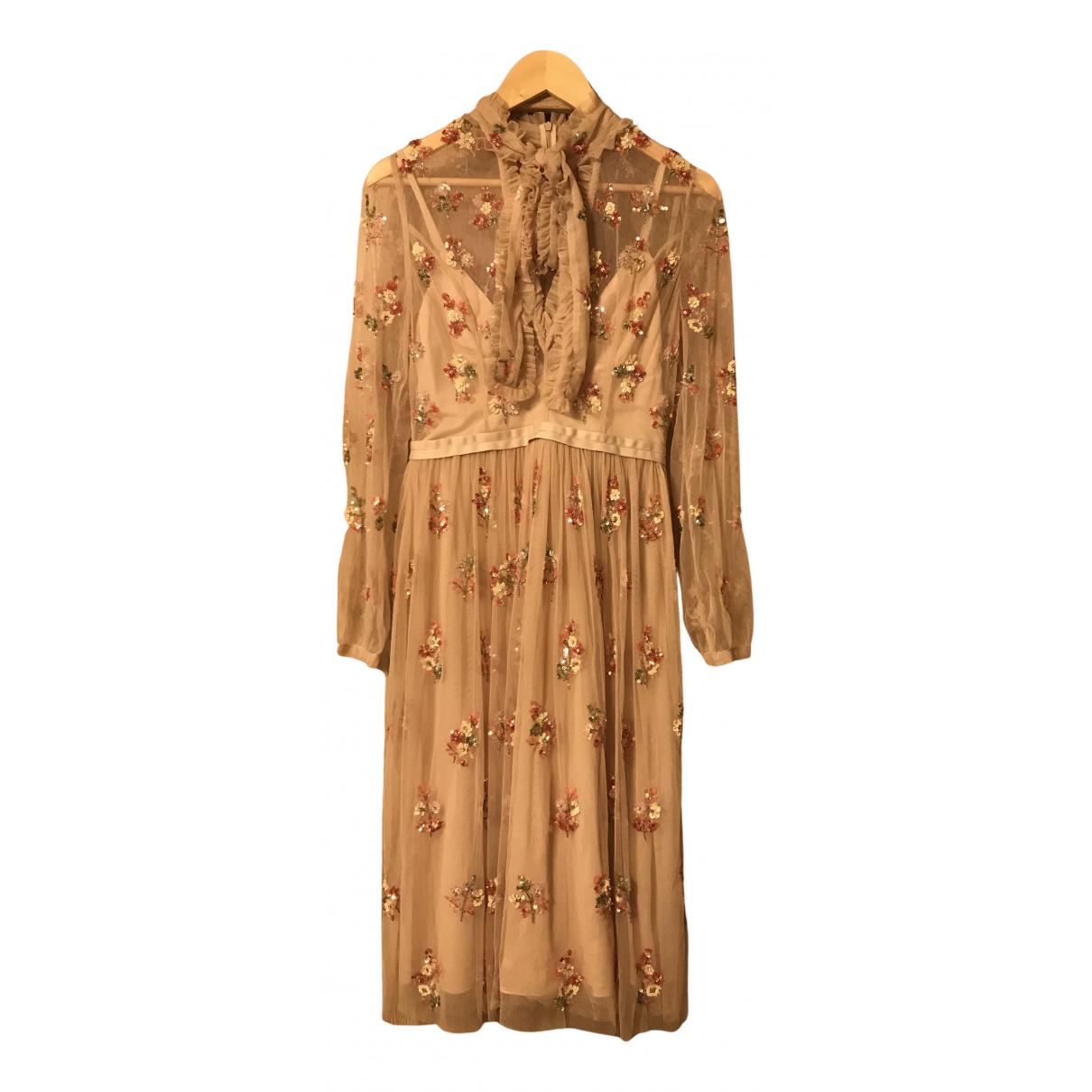 Needle & Thread \N Kleid in  Bunt Viskose