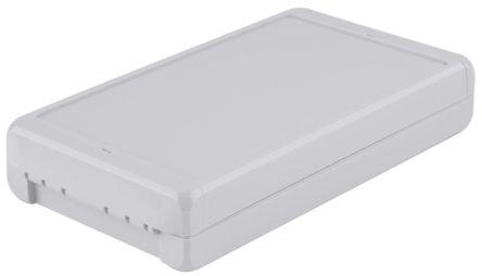 Bopla Bocube, Light Grey Polycarbonate Enclosure, IP66, IP68, Flanged, 231 x 125 x 40mm