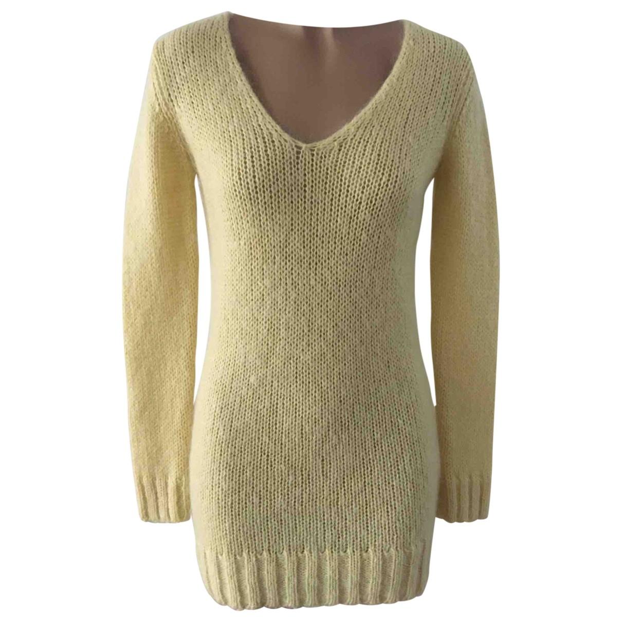 Tara Jarmon - Pull   pour femme en laine - jaune