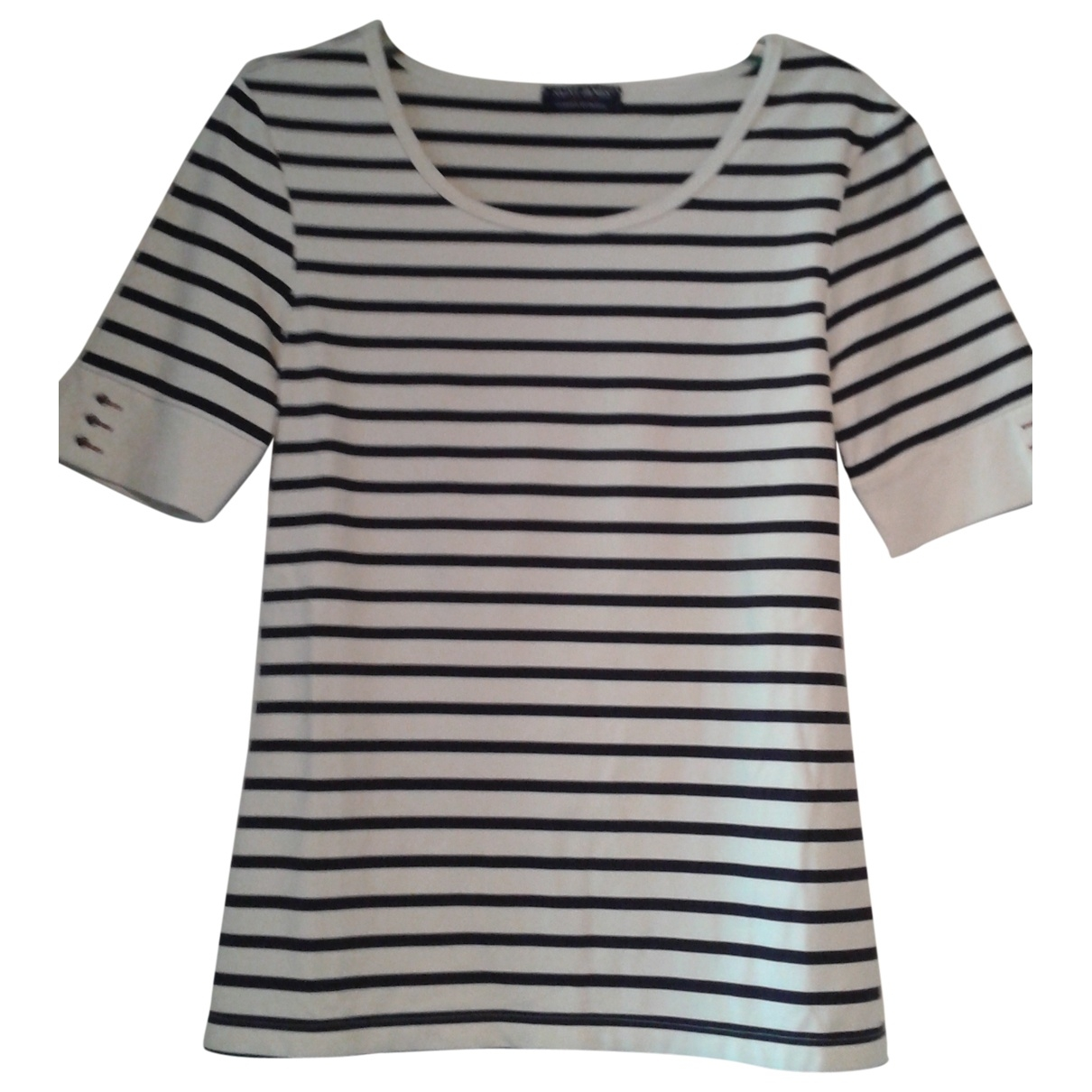 Non Signé / Unsigned \N Ecru  top for Women 36 FR