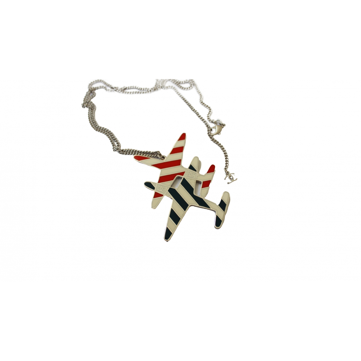 Chanel \N Multicolour Silver necklace for Women \N