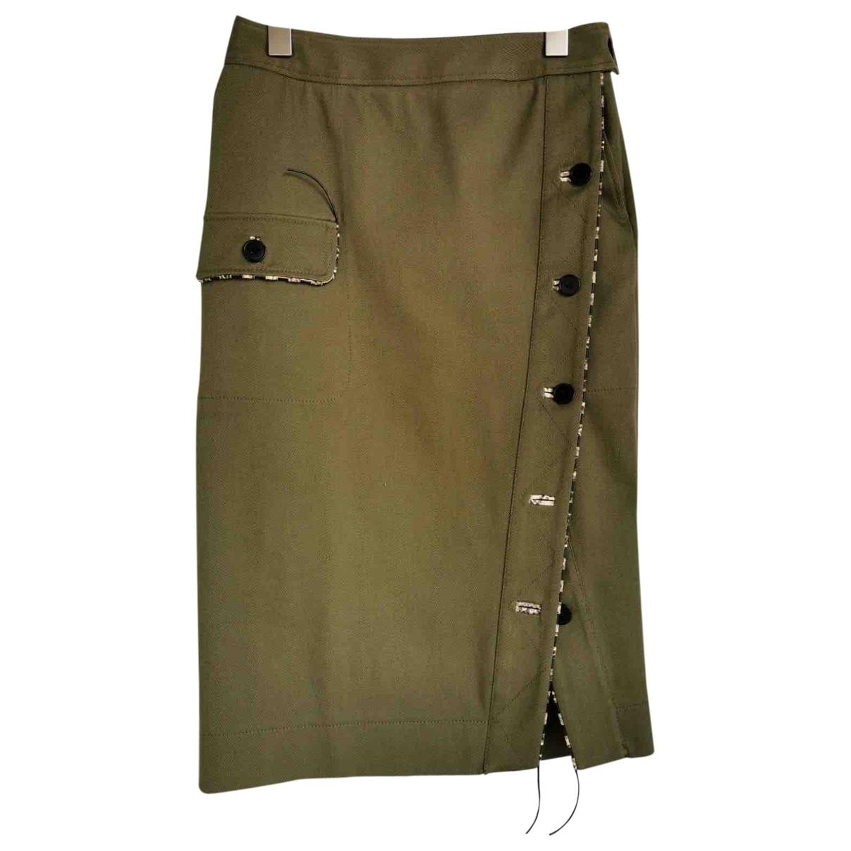 Altuzarra - Jupe   pour femme en coton - kaki