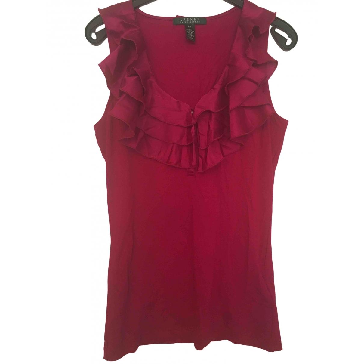 Lauren Ralph Lauren - Top   pour femme - rose